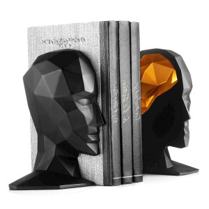 Divided Head Bookends