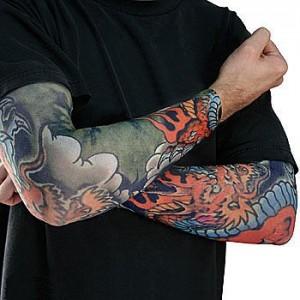 Dragon Fake Tattoo Sleeve