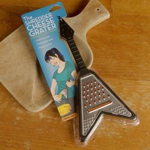 Electric Guitar Cheese Grater