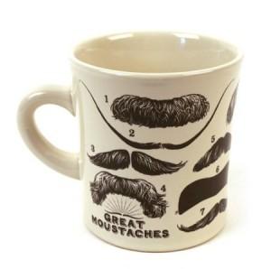 Famous Moustaches Mug
