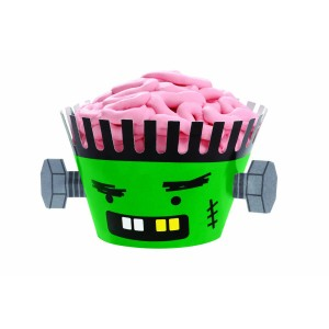 Frankenstein Cupcake Wrapper