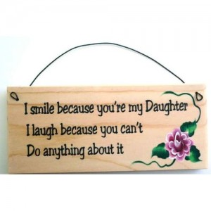 Funny Mother Daughter Kitchen Sign