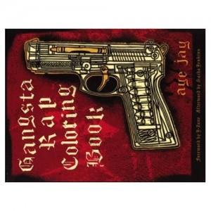 Gansta Rap Coloring Book Cover