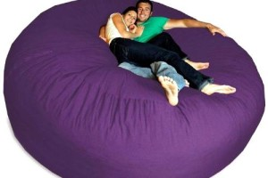 Giant Purple Bean Bag