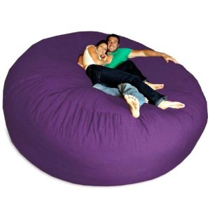 Giant Purple Bean Bag