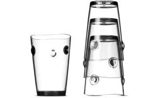 Glass Cups with Nodes