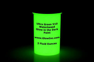 Green Glow in the Dark Paint