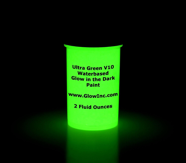 Green Glow In The Dark Paint
