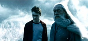 Harry Potter Dumbledore Cave Scene