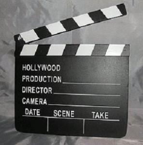 Hollywood Slateboard Clapper