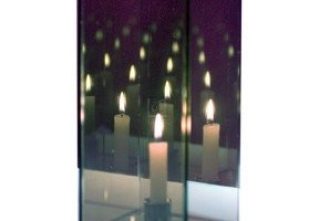 Infinity Mirror Candle Box