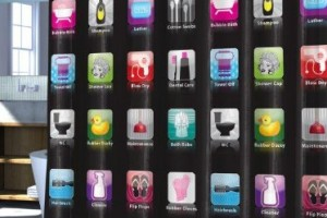 iPhone Apps Shower Curtain