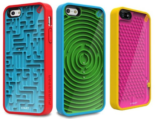 iPhone Ball Bearing Maze Case