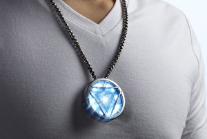 Iron Man Reactor USB Necklace