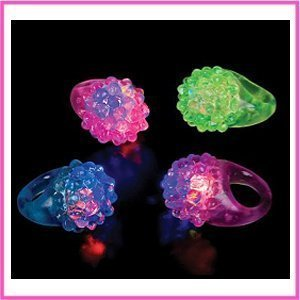 Flashing LED Rings