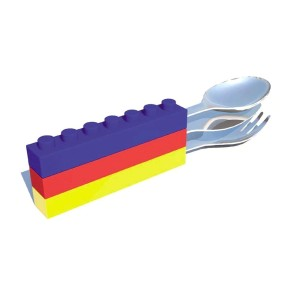 Lego Cutlery Set Stacked