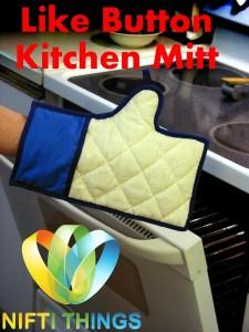 Like Button Kitchen Mitt