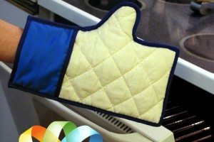 Like Button Kitchen Mitt