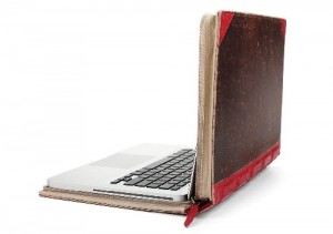 MacBook Leather Book Case