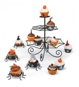 Metal Halloween Cupcake Stand