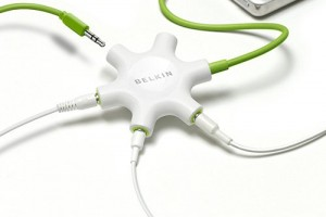 Multi Person Headphone Splitter