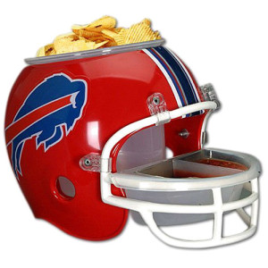 NFL Buffalo Bills Helmet Chip Bowl