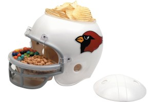 NFL Helmet Snack Bowl