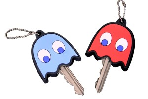 Pac-Man Ghost Key Covers
