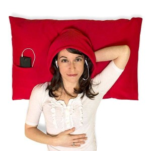 Pillow with Hoodie