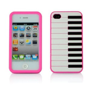 Pink Piano iPhone 4 Case