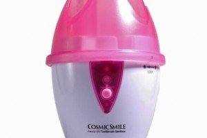 Pink UV Toothbrush Sanitizer