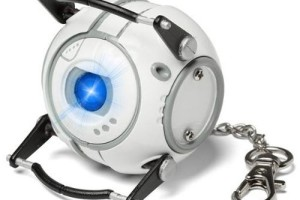 Portal Wheatley Keychain Light