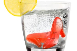 Red High Heel Ice Cubes