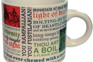Shakespearean Insults Coffee Mug