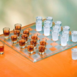 Shot Glass Checkers