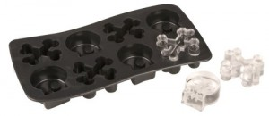 Skull and Bones Ice Cube Tray