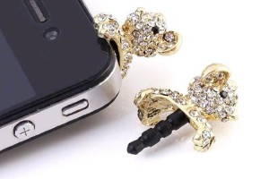 Teddy Bear iPhone Plug
