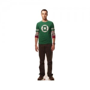 The Big Bang Theory Sheldon Cooper Cardboard