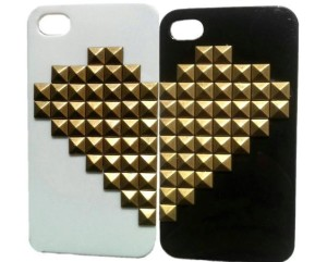Twin Hearts iPhone 4 Case