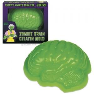 Zombie Brain Gelatine Mold